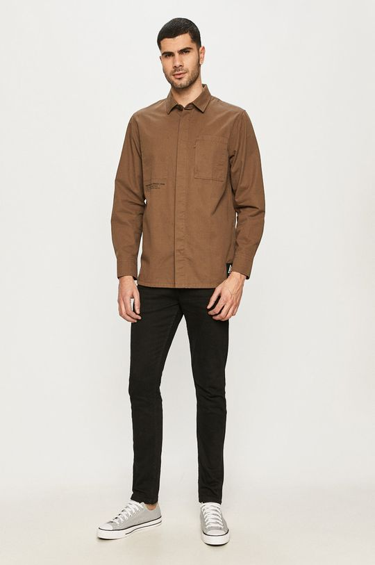 Vans - Bavlněná košile  100% Bavlna
