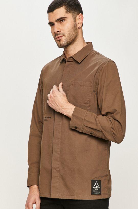 Vans - Bavlněná košile Pánský