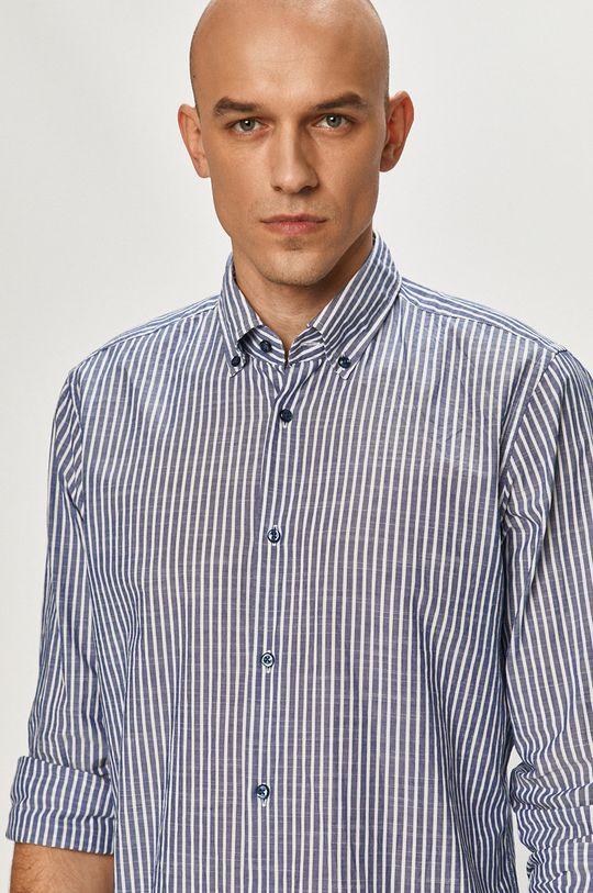niebieski Joop! - Koszula bawełniana Męski