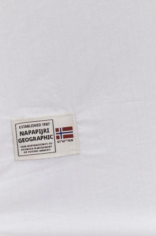Napapijri - Koszula bawełniana biały