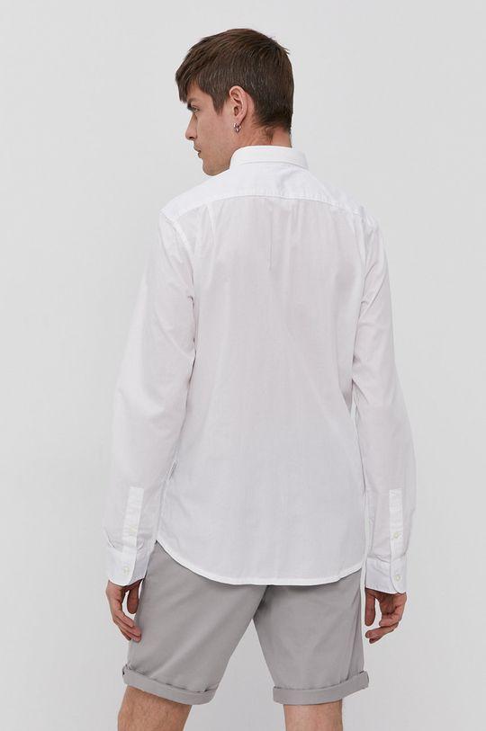 biały Napapijri - Koszula bawełniana