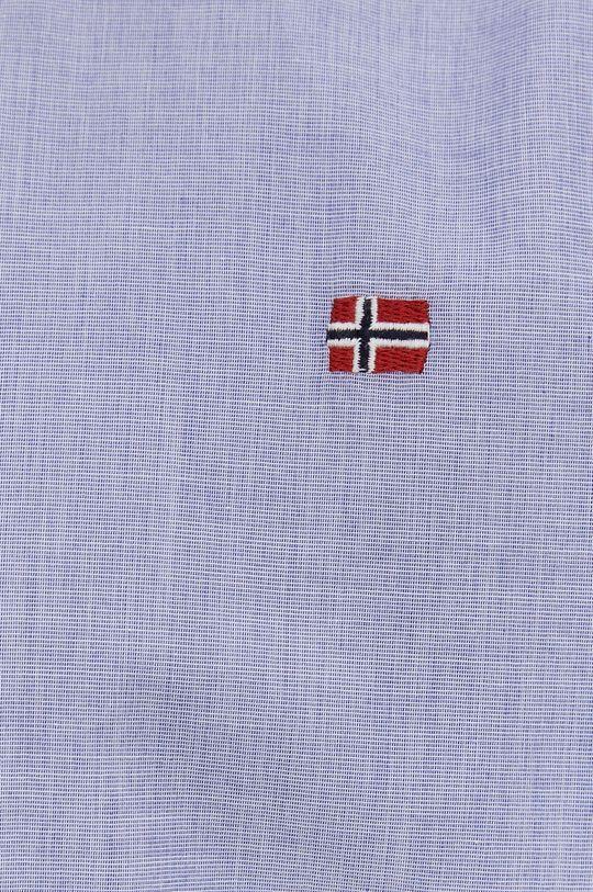 Napapijri - Bavlněné tričko modrá