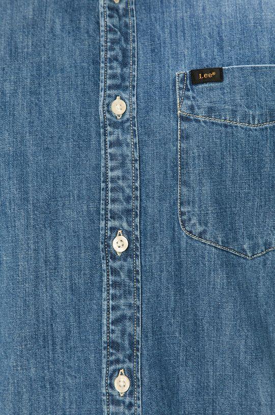 Lee - Koszula bawełniana niebieski