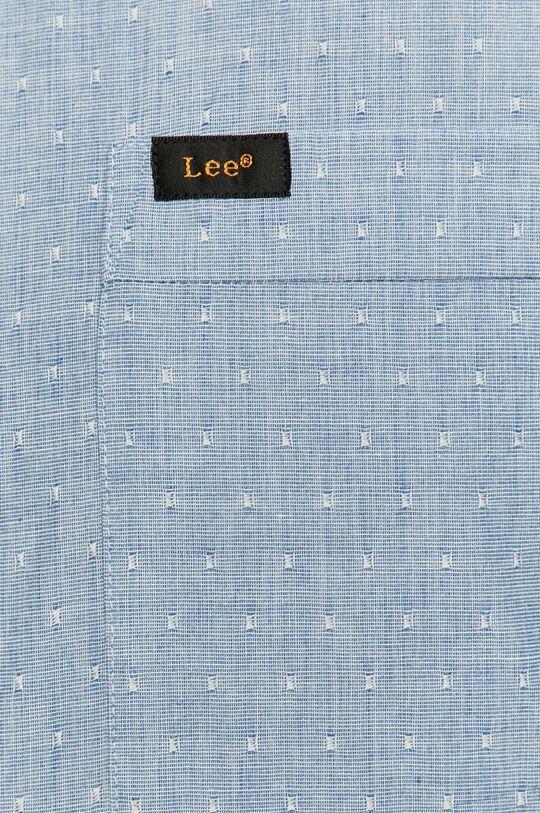 Lee - Bavlněné tričko světle modrá