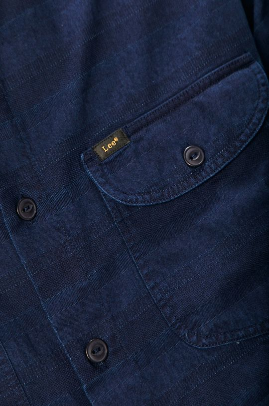 Lee - Koszula bawełniana granatowy