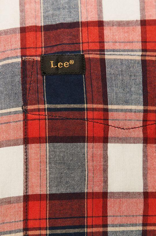 Lee - Bavlněné tričko červená