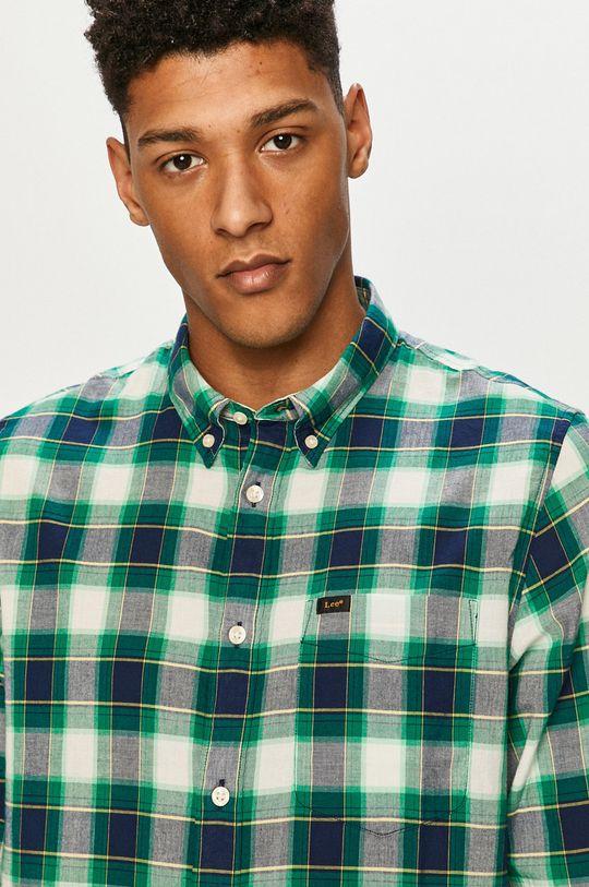 zelená Lee - Bavlněné tričko Pánský