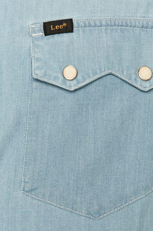 Lee - Koszula jeansowa blady niebieski