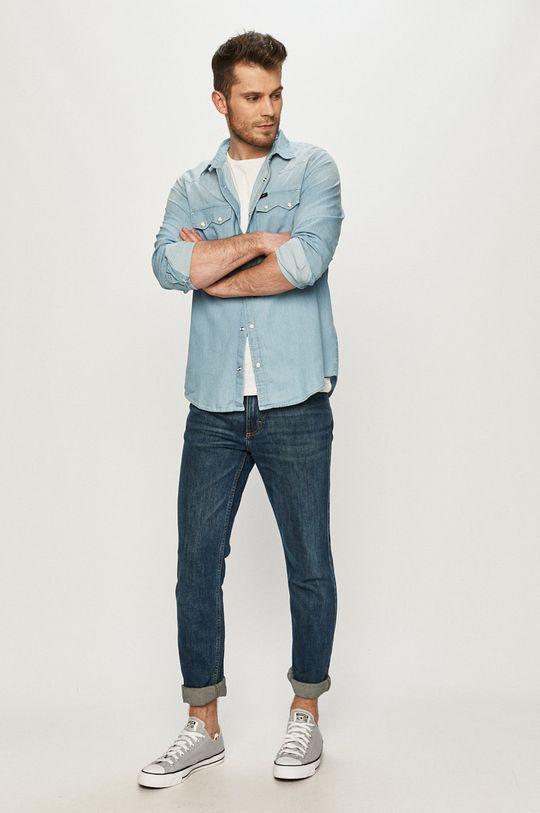 Lee - Koszula jeansowa 100 % Bawełna