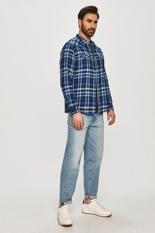 Wrangler - Bavlněná košile  100% Bavlna