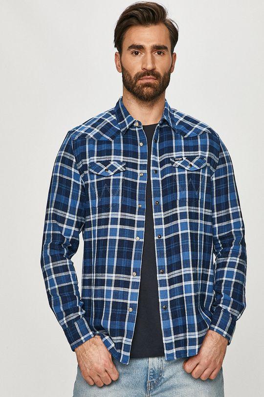 Wrangler - Bavlněná košile Pánský