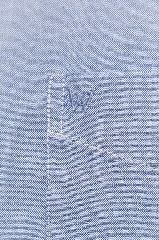 Wrangler - Koszula bawełniana jasny niebieski