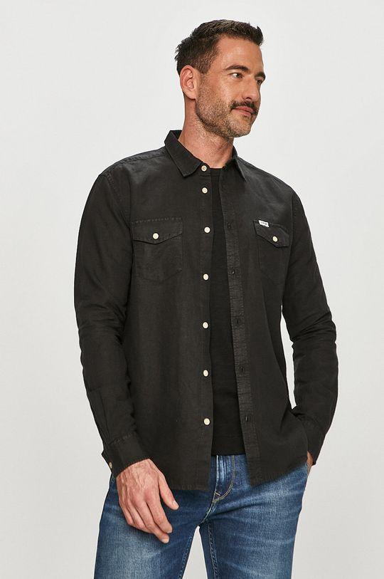čierna Wrangler - Košeľa Pánsky