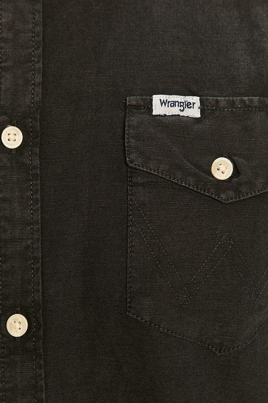 Wrangler - Košeľa čierna