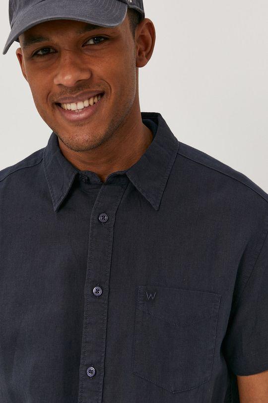 námořnická modř Wrangler - Košile Pánský