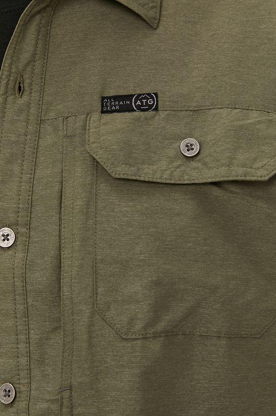 Wrangler - Koszula ATG oliwkowy