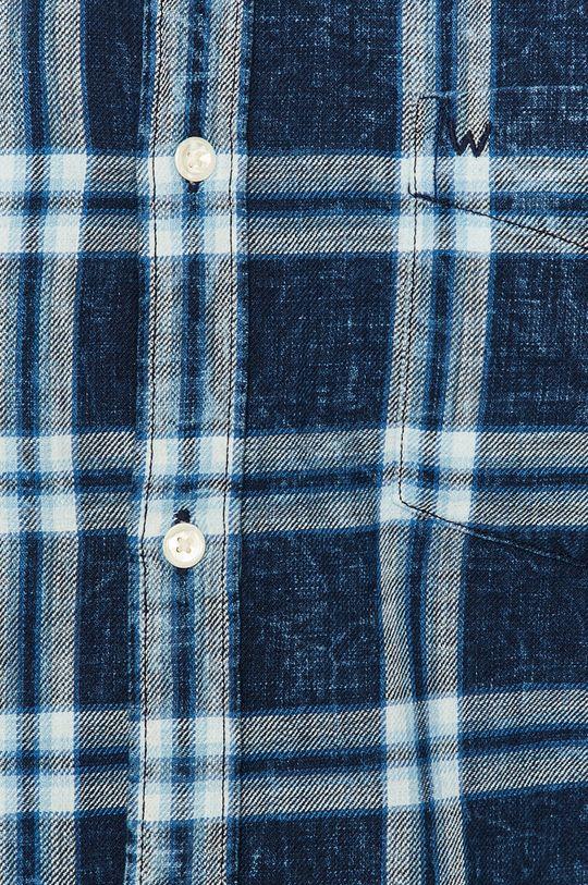 Wrangler - Koszula bawełniana niebieski