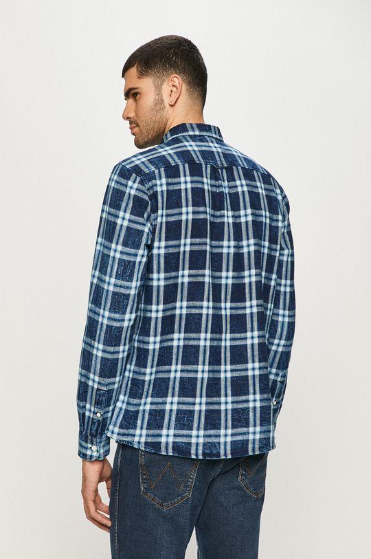 niebieski Wrangler - Koszula bawełniana