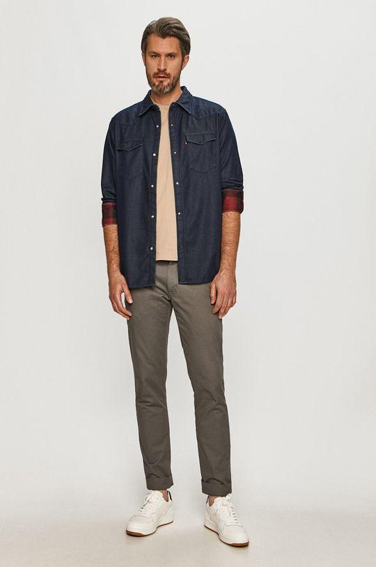 Levi's - Koszula jeansowa Materiał zasadniczy: 100 % Bawełna, Inne materiały: 5 % Elastan, 95 % Poliester
