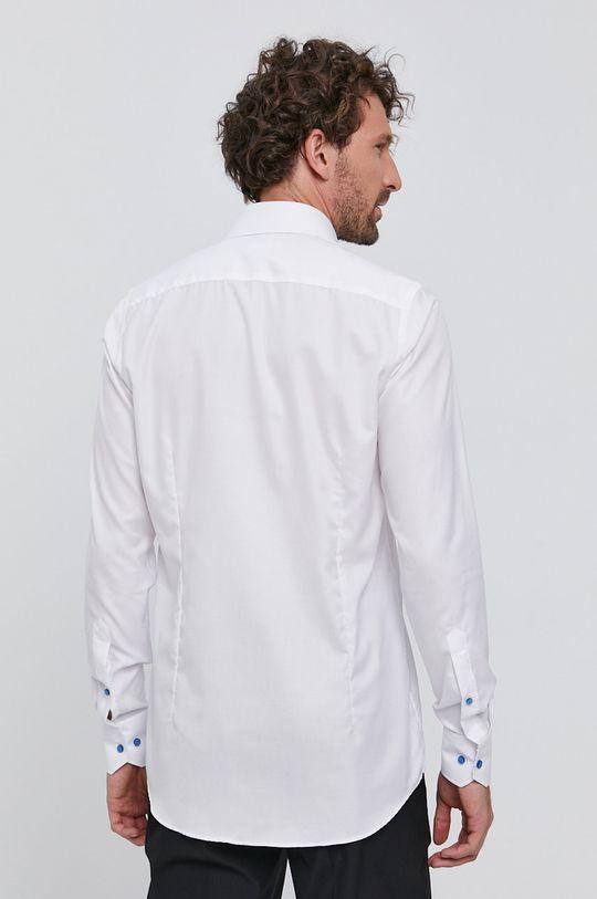 biały Emanuel Berg - Koszula bawełniana
