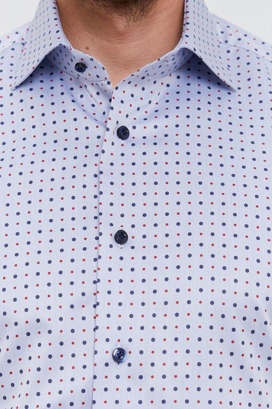 Emanuel Berg - Bavlněné tričko světle modrá
