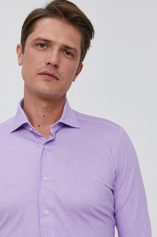 fialová Emanuel Berg - Košile Pánský