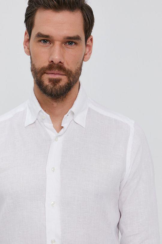biały Emanuel Berg - Koszula Męski