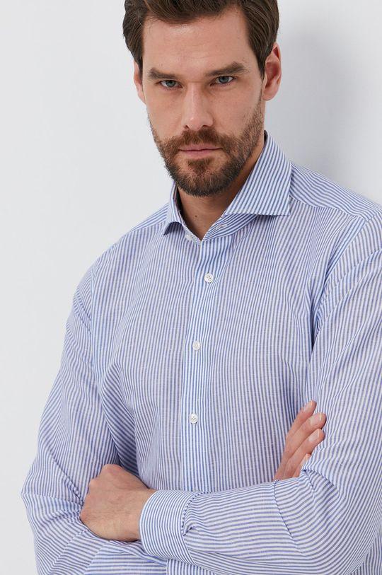 modrá Emanuel Berg - Košeľa Pánsky
