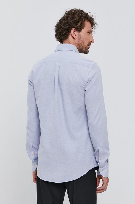 niebieski Emanuel Berg - Koszula bawełniana