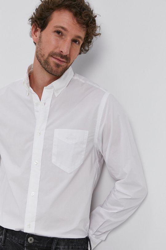 biela Gant - Bavlnená košeľa Pánsky