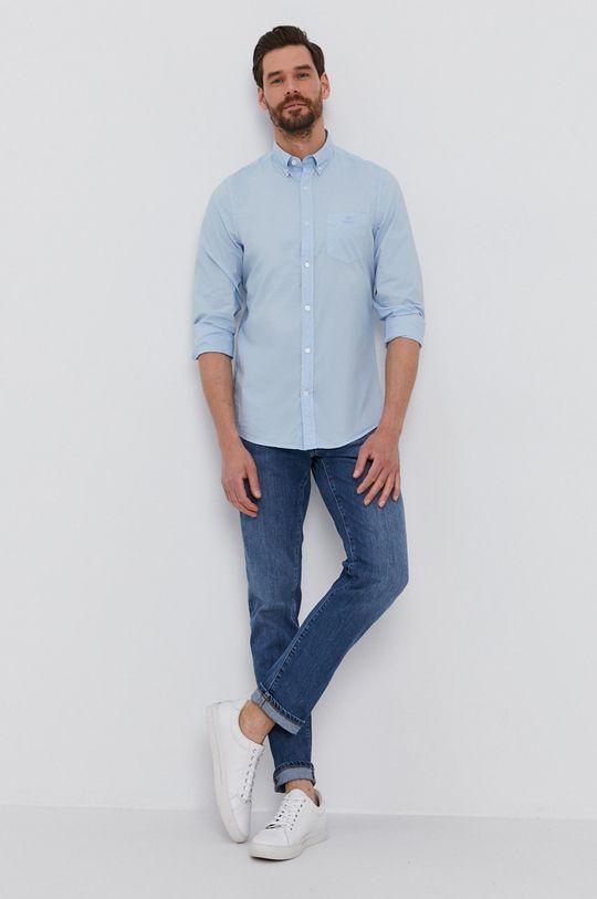 Gant - Koszula bawełniana jasny niebieski