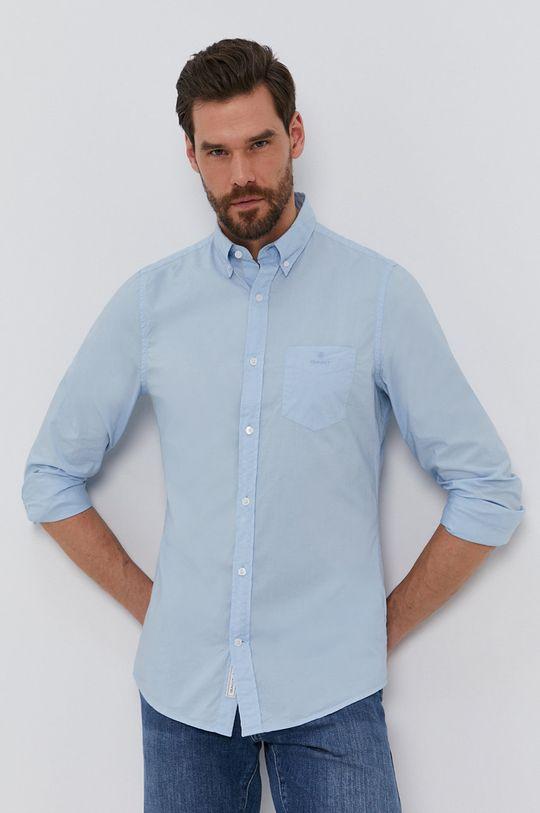 jasny niebieski Gant - Koszula bawełniana