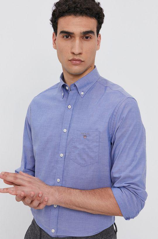 niebieski Gant - Koszula bawełniana Męski
