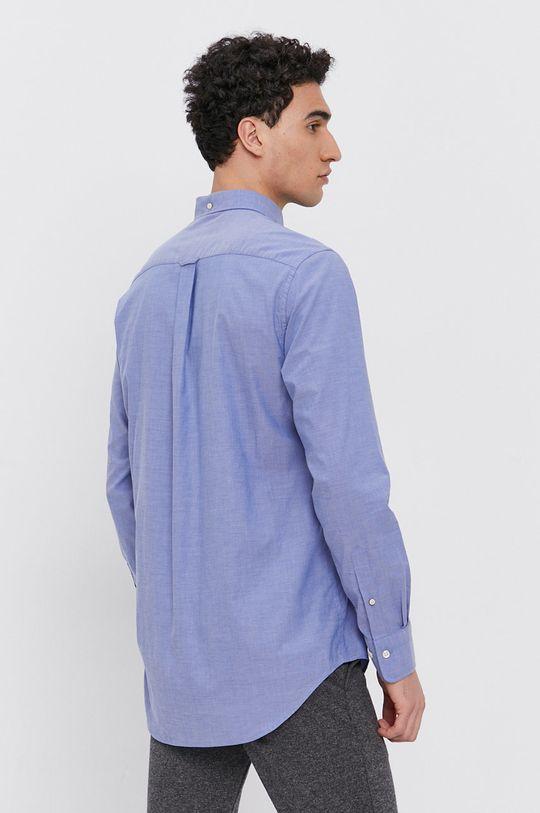 niebieski Gant - Koszula bawełniana