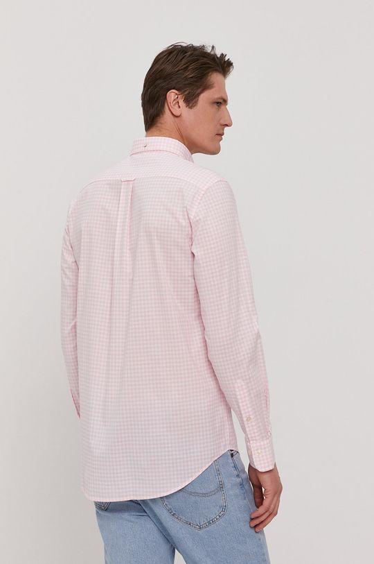różowy Gant - Koszula bawełniana