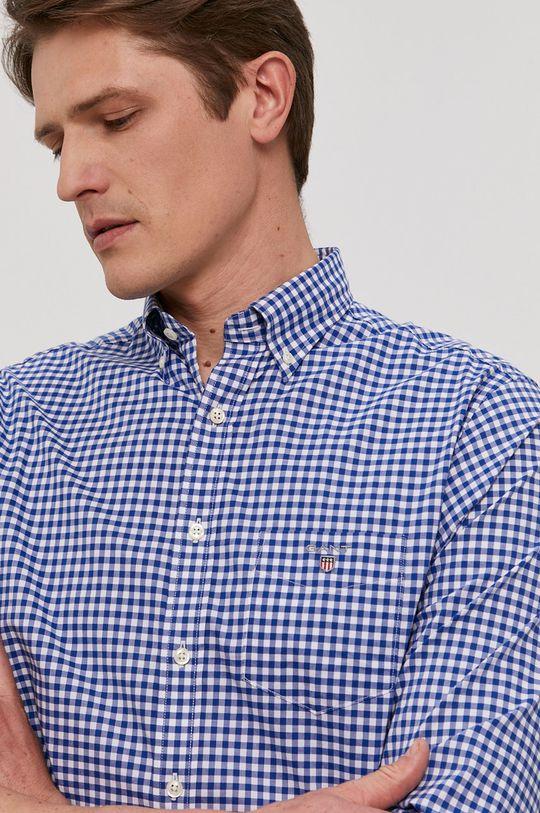modrá Gant - Bavlnená košeľa Pánsky