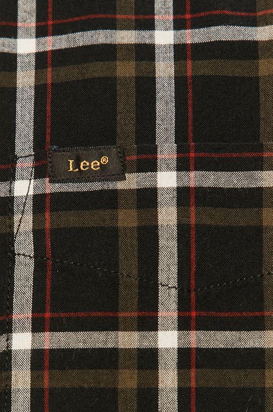 Lee - Bavlněné tričko černá