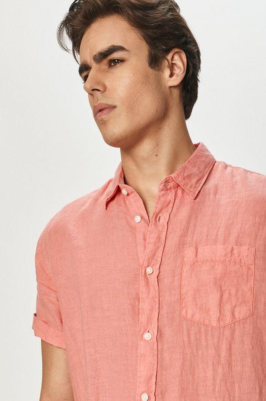 fiołkowo różowy Pepe Jeans - Koszula Adrian Męski