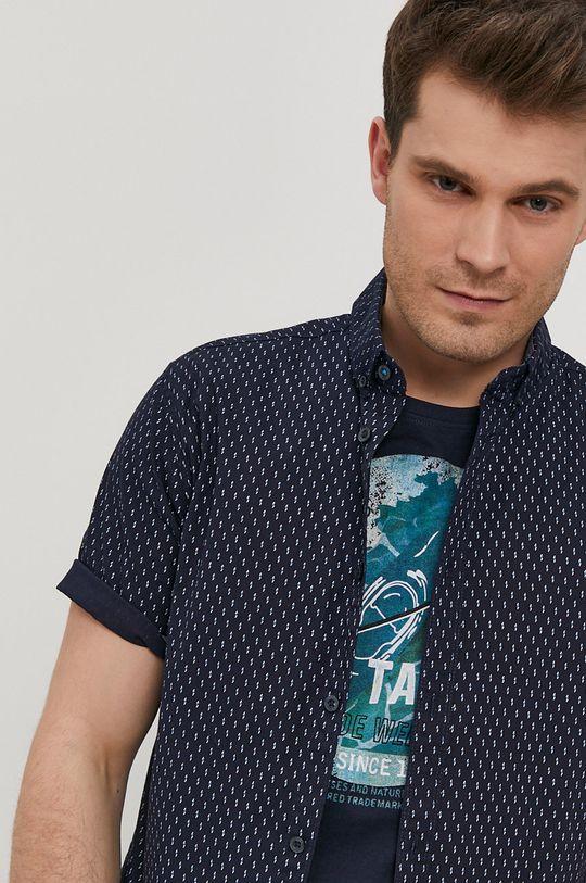 granatowy Tom Tailor - Koszula Męski