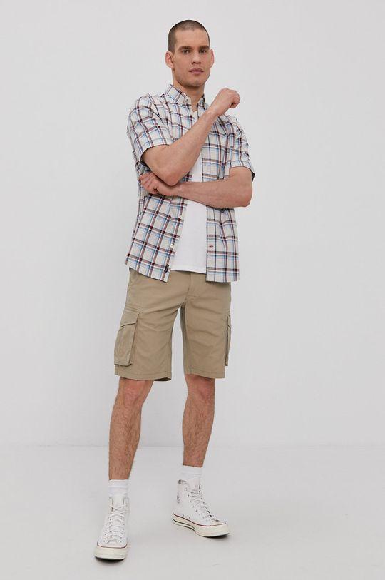 Tom Tailor - Koszula bawełniana 100 % Bawełna