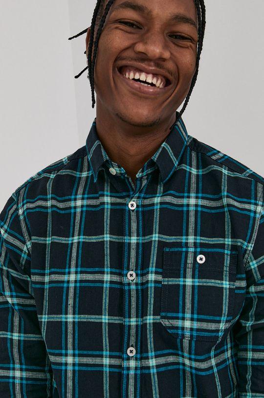 stalowy niebieski Tom Tailor - Koszula Męski