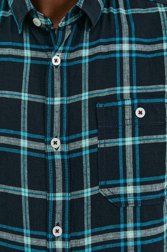 Tom Tailor - Koszula stalowy niebieski