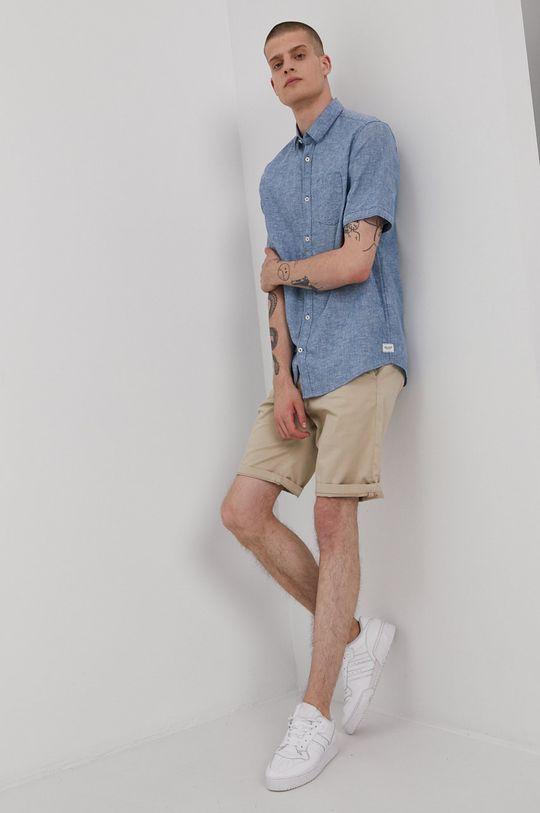 Tom Tailor - Koszula Materiał zasadniczy: 45 % Bawełna, 55 % Len