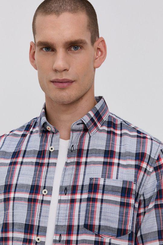 modrá Tom Tailor - Bavlněné tričko Pánský