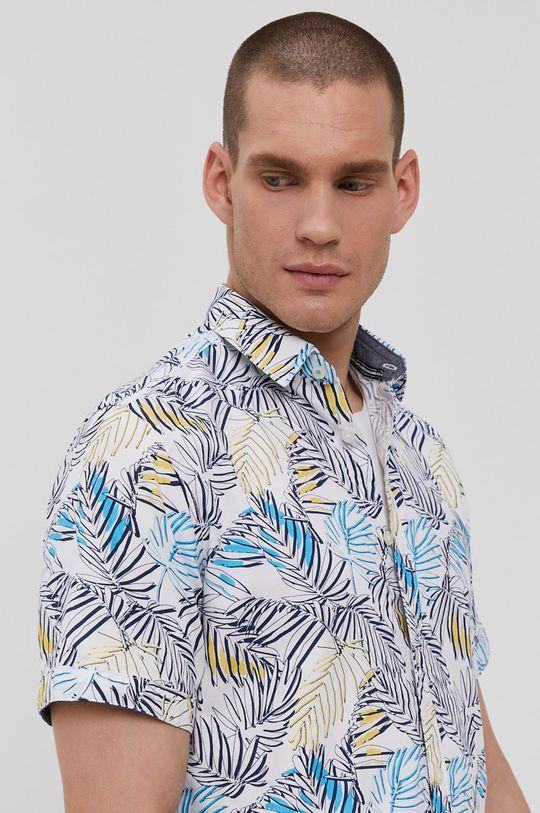 biela Tom Tailor - Bavlnená košeľa Pánsky