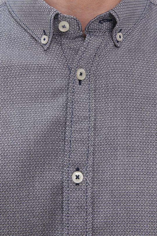 Tom Tailor - Bavlnená košeľa tmavomodrá