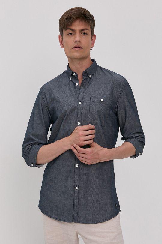 námořnická modř Tom Tailor - Bavlněné tričko Pánský