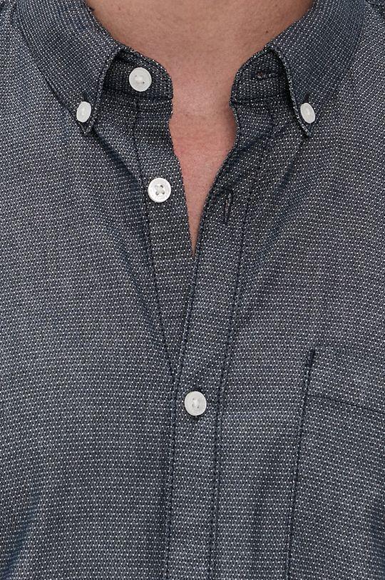 Tom Tailor - Bavlněné tričko námořnická modř