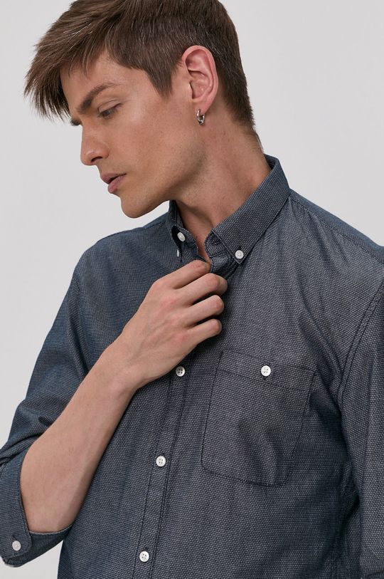 námořnická modř Tom Tailor - Bavlněné tričko