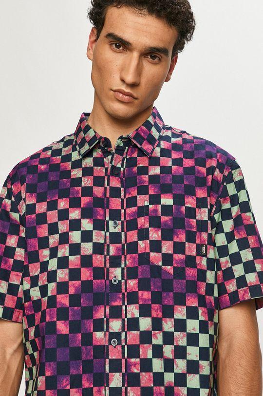 multicolor Vans - Koszula bawełniana Męski